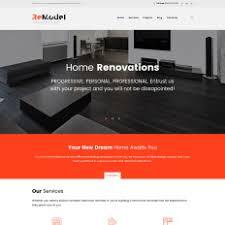 interior design wordpress themes templatemonster
