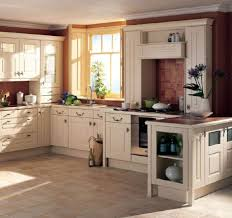 furniture home u shaped kitchen with cream cabinets idea and