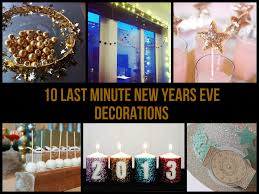 last minute new years eve decorations