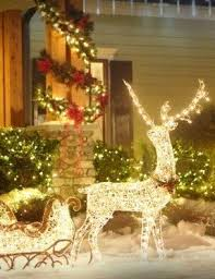 outdoor sleigh decoration foter