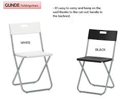 ikea folding chairs white table and at orlanpress info