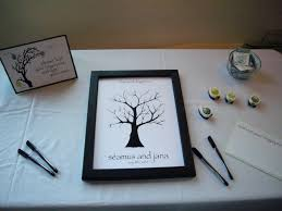 wedding tree wedding tree guestbook a stitch in lime