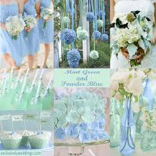blue wedding powder blue wedding colors