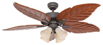 Ceiling Fan With 4 Lights by Punta Cana Indoor 4 Light Ceiling Fan With Remote Control Bronze