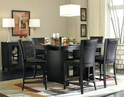 black dining table chairs black dining room white and sets wonderful with images of collection