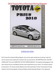 2010 toyota prius electrical wiring diagram by wardtoledo issuu