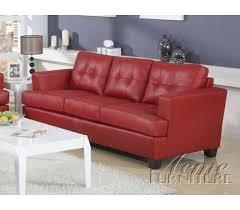 American Furniture Warehouse Sleeper Sofa Diamond Red Leather Sleeper Sofa By Acme 15063