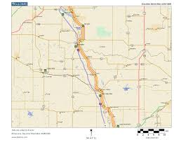 Canadian River Map Oklahoma Highways Original Oklahoma Route 4