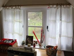 Green Kitchen Curtains by Chic Curtain Ideas Inspirations Including Shabby Kitchen Curtains
