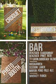 diy wedding signs 10 creative diy wedding signs something borrowed wedding diy
