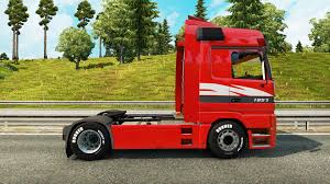 mercedes benz actros mp4 red benz actros mp1 v2 1 for euro truck simulator 2