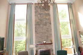 Bathroom Window Covering Ideas Window Treatment Ideas For High Ceilings U2013 Day Dreaming And Decor