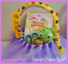 princess easter basket being with style disney princess rapunzel inspired easter