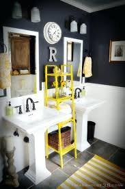 yellow gray bathroom art download and ideas decor lofty 1