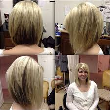 medium length stacked bob hairstyles angled bobs with bangs short hairstyles 2016 2017 most