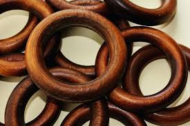 wooden curtain rings finding a good use for all those wooden curtain rings by woolly wood