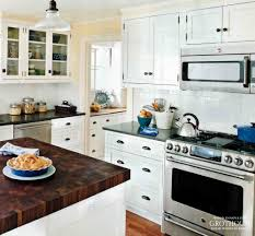 butcherblock countertops wood countertop butcherblock and bar black and white kitchen design by this old house television show