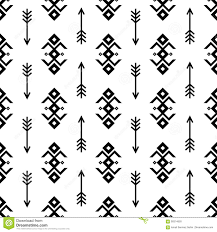 seamless indian pattern vector arrows and usa american type