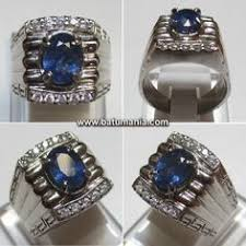 model cincin blue safir cincin batu zamrud kalimantan green obsidian untuk