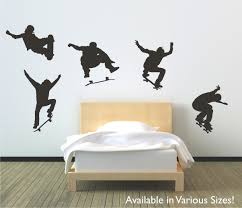 wall decals appealing skateboard wall decals skateboard wall full image for cool skateboard wall decals 75 skateboard wall decals stickers skateboarders skateboard wall