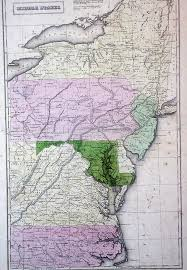 West Virginia Road Map by 1830 U0027s Pennsylvania Maps
