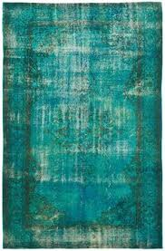 over dyed handspun silk rug handwoven in india for the home