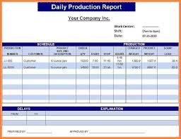 Excel Reporting Templates 11 Daily Report Format In Excel Bussines 2017