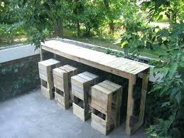 how to make an outdoor table pallet furniture outdoor garden furniture made with pallets how to