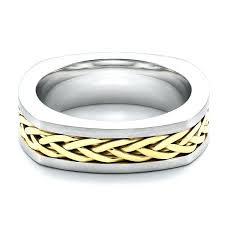 braided wedding band braided wedding bands braided two tone wedding band braided