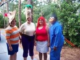 Phineas Halloween Costume Ferb Cosplay