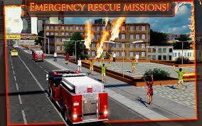 fire truck emergency rescue 3d android apps on google play