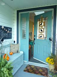 Halloween House Ideas Decorating My Fall Back Porch Creatively Living Blog Idolza