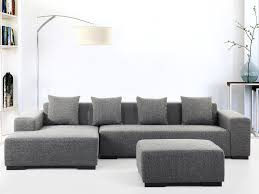 Living Room With Grey Corner Sofa Dark Grey Corner Sofa Couch Large 5 Seater Fabric Upholstered