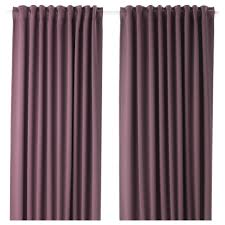 Curtains That Block Out Light Majgull Blackout Curtains 1 Pair Ikea