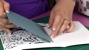 create a card lace butterfly