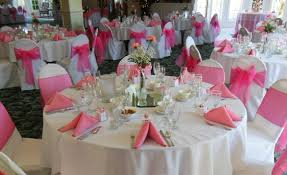 pink chair covers chair cover rentals in los angeles and orange county ca