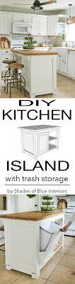 kitchen island trash bin flooring trash bin storage kitchen island kitchen island