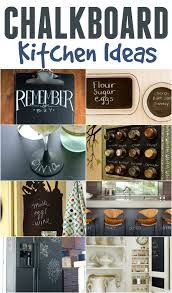 chalkboard in kitchen ideas 9 amazing chalkboard kitchen ideas this s