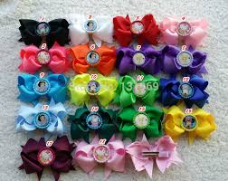 hello bows 50pcs girl mickey tinker bell snow white hello flattened