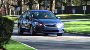 2012 subaru impreza drive time review with steve hammes youtube