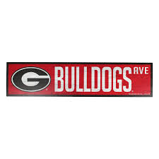 Georgia Bulldog Home Decor Horse Art Personalized Welcome Sign Wall Decor Collection Regal