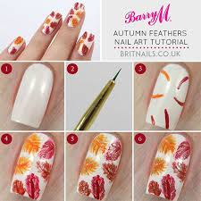 easy simple u0026 step by step fall nail art tutorials for learners