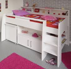 White Bedroom Furniture Sa Logan Midsleeper Bed White For Children In S A