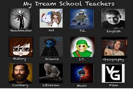 my dream teachers meme my opinions by insomniacarisen on deviantart