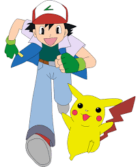 pokemon ash pikachu coloring pages for kids to color and print