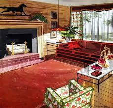 227 best 1950s interiors images on pinterest 1950s interior