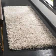 Plush Runner Rugs Beige Shag Runner Rugs Shop The Best Deals For Nov 2017