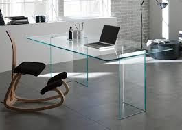 living room amazing charming glass desk office metal computer
