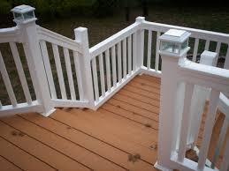 deck design ideas real wood vs decks that look like wood st
