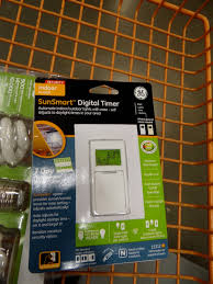 Outdoor Digital Timer Electrical Timers by One Project At A Time Diy Blog Installing A Digital Light Timer
